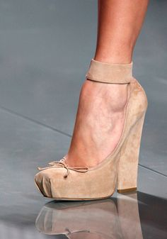 one of the most feminine shoes ever. christian dior