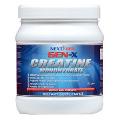 Creatine Monohydrate Ultra Pure Powder...Supports muscle development and recovery......  #nextgenx