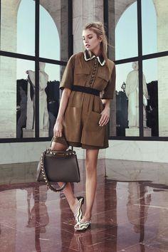 #Fendi  #fashion  #Koshchenets       Fendi Resort 2017 Collection Photos - Vogue
