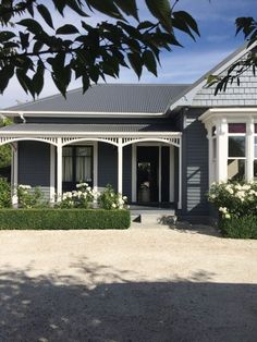 Image result for hamptons exterior paint colours