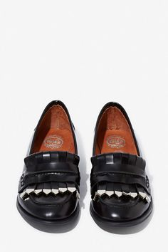 Jeffrey Campbell Eschela Leather Loafers