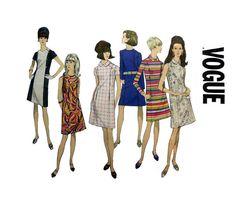 Basic A-Line Dress Misses Size 12 Bust 32 by PurplePlaidPenguin