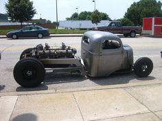 1942 GMC COE V12 rat rod truck
