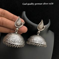 Oxidized Jewellery available at Ankh jewels for booking WhatsApp on Fancy Jewellery, Silver Jewelry, Silver Nose Ring, Oxidised Jewellery, Manish, Fashion Dresses, Jewels, Drop Earrings, Men's