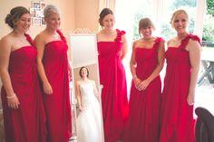 Bridesmaids first look of Bride - Wedding photography Bridesmaids, Bridesmaid Dresses, Wedding Dresses, Wedding Bride, Our Wedding, Wedding Photography, Fashion, Bridesmade Dresses, Bride Dresses