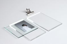 D I Y / Layered Glass Picture Frame
