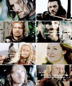 Mortals. From #LOTR and #Hobbit. Tolkien