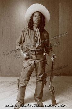 african american cowboys of the old west | Longfellow the Author of The Last Best West.