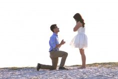 This beach trip turned into the most beautiful marriage proposal!