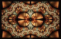 Copper by `SaTaNiA - fractal art.