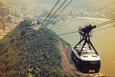 Take a ride to the top of Rio de Janeiro.