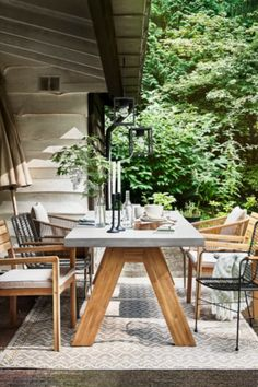 Outdoor Life, Outdoor Gardens, Outdoor Decor, Outdoor Dinning Table, Garden Furniture, Outdoor Furniture Sets, Outdoor Seating Areas, Garden Table, Garden Design