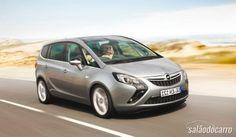 Opel Zafira Tourer conta com motor 1.6 CDTI 4 cilindros  » www.salaodocarro.com.br/previas/opel-zafira-tourer.html