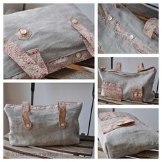 recycled shirt bag by // Between the Lines //, via Flickr