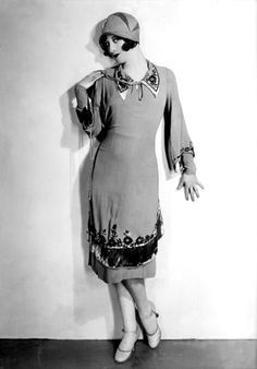 Damenmode im Jahr 1927 @vintageclothin.com