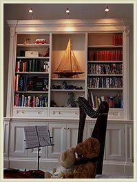 www.verny.co.uk Richmond - Custom made bookcase