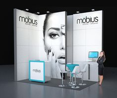 Image 4 möbius 4 x 3m Modular Exhibition Stand without the custom price tag by Love Displays www.lovedisplays.co.uk