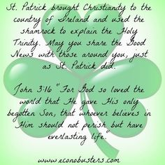 Irish trinity.... share it! ctc