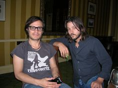 Gael Garcia Bernal and Diego Luna (at the same time of course)