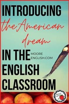 The American Dream is part of the Great American Novel, especially The Great Gatsby by F. Scott Fitzgerald. For this reason, it's important for English teachers to consider how to incorporate and introduce this concept into the language arts classroom. This strategy uses primary sources, nonfiction annotations, and informational texts to help students create a visual representation of the American dream in different times periods. This is great for teachers and students working with American lit English Classroom, English Teachers, Article Of The Week, Expository Writing, American Literature, American History, Levels Of Understanding, High School English, Informational Texts