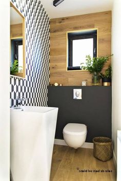Small Bathroom Renovations 633389135074444623 - Salon carrelage noir brillant: photos salle bains moderne Source by femmebellevie Small Bathroom Inspiration, Bad Inspiration, Small Toilet Room, Toilette Design, Bathroom Design Layout, Bathroom Designs, Bathroom Ideas, Small Bathroom Renovations, Bathroom Remodeling