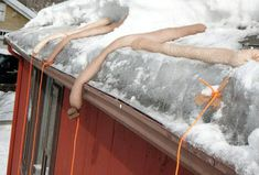 REMOVING ICE FROM ROOFS Roof Ice Melt, Ice Dams, Freezing Rain, Building Contractors, Roofing Materials, Home Inspection, Life Hacks, Home Improvement, Lifehacks