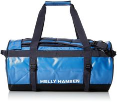 d8b2ace5ba8 Helly Hansen Classic Duffel Bag with Backpack Straps 558 Stone Blue  90-Liter #fashion