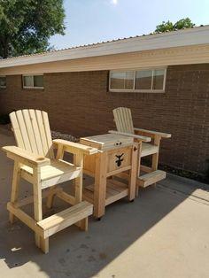 High adirondack chair - maybe for Nick (handicap