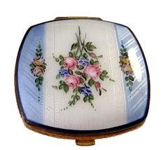 Floral Guillouche Vintage Compact