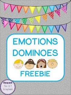 The game contains 42 domino cards, containing a mixture of emotions pictures.   The emotions included in this pack are: happy, sad, angry, surprised, scared, excited, worried, embarrassed, frustrated, jealous, poorly, bored.  The game helps reinforce simple matching of the emotion pictures, as well as providing opportunities to discuss the different emotions too.