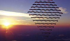 Extreme Photography: 15 Amazing Skydiving Photography