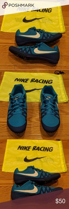 official photos 8c464 6395c Nike Zoom Rival M 8 Track Sprint Spikes men sz 9.5 Brand new Nike Zoom Rival