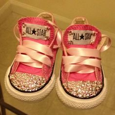 DIY converse twinkle toes ahhhh they are sooo precious!!!