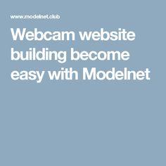 Webcam website building become easy with Modelnet