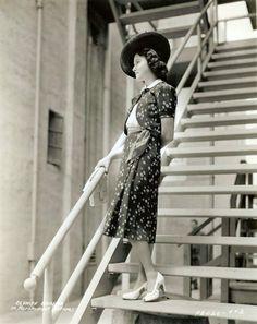 Olympe Bradna, 1940s