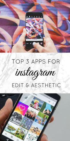 How to maintain your instagram aesthetics with my top 3 photo editing apps!