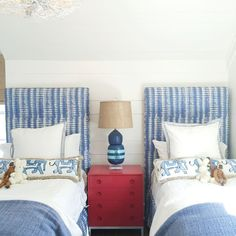 """""""Checking out the most enchanting Sullivan's Island beach house today designed by by looklingerlove """" Twin Beds For Boys, Kids Bedroom, Bedroom Decor, Bedroom Ideas, Kid Spaces, Room Themes, Baby Decor, Boy Room, Beach House"""
