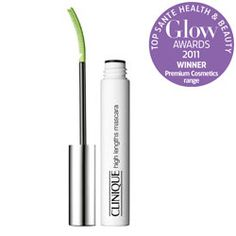 Clinique High Lengths Mascara. Because of the shape of the brush - people think I have fake eyelashes on!