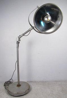 Vintage Quot Castle Quot Medical Industrial Floor Light Amp Surgical