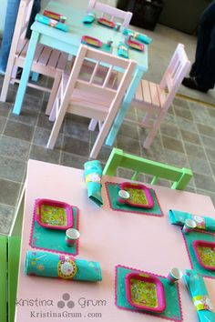 Kate's American Girl Doll Party