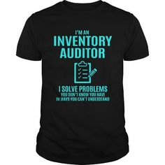 Awesome Tee INVENTORY AUDITOR T-Shirts #tee #tshirt #Job #ZodiacTshirt #Profession #Career #auditor