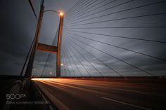 Alex Fraser Bridge by elihiebert