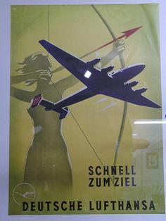 Lufthansa Poster by blakev, via Flickr
