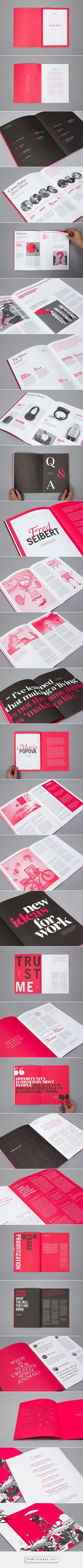 99U Quarterly Magazine :: Issue No.2 on Behance - created via https://pinthemall.net