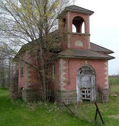 Abandoned school house in Mayville, Michigan. by leanne