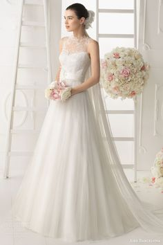 aire barcelona wedding dresses 2014