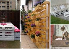 Top 27 Ingenious Ways To Transrofm Old Pallets Into Beautiful Outdoor Furniture - Home Decoratings And DIY Outdoor Furniture Plans, Diy Pallet Furniture, Diy Pallet Projects, Woodworking Projects, Furniture Ideas, Old Pallets, Recycled Pallets, Wooden Pallets, Wooden Diy