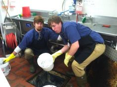 Respect for the kitchen staff is not letting them clean the grease trap once per month
