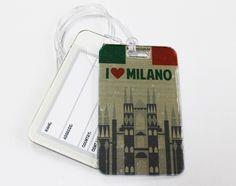 Tag de mala Milano Premium