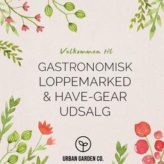 Velkommen til Gastronomisk Loppemarked hos Rest.Lumskebugtens loppemarked Urban Garden sælger have-gear på torsdag - til gode priser! Håber vi ses! #lumskebugten #urbangardencompany #loppemarked #urbangarden